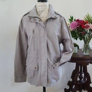 Jackets & Blazers - K. Jordan Sge Green Utility Jacket